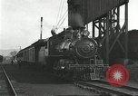 Image of railroad train United States USA, 1922, second 2 stock footage video 65675066764