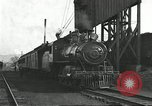 Image of railroad train United States USA, 1922, second 5 stock footage video 65675066764
