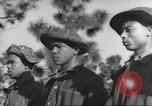 Image of Negro boys at 1930s CCC Camp Hardeeville South Carolina USA, 1939, second 5 stock footage video 65675066765