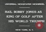 Image of Bobby Jones New York United States USA, 1930, second 1 stock footage video 65675066769