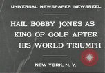 Image of Bobby Jones New York United States USA, 1930, second 4 stock footage video 65675066769