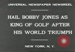 Image of Bobby Jones New York United States USA, 1930, second 6 stock footage video 65675066769
