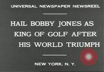 Image of Bobby Jones New York United States USA, 1930, second 9 stock footage video 65675066769