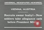 Image of new recruits Vienna Austria, 1930, second 4 stock footage video 65675066770