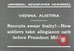 Image of new recruits Vienna Austria, 1930, second 6 stock footage video 65675066770