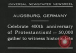Image of 400th anniversary of Protestantism Augsburg Germany, 1930, second 1 stock footage video 65675066772