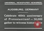 Image of 400th anniversary of Protestantism Augsburg Germany, 1930, second 5 stock footage video 65675066772