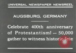 Image of 400th anniversary of Protestantism Augsburg Germany, 1930, second 6 stock footage video 65675066772