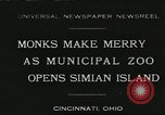 Image of municipal zoo Cincinnati Ohio USA, 1930, second 1 stock footage video 65675066773