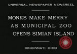 Image of municipal zoo Cincinnati Ohio USA, 1930, second 2 stock footage video 65675066773