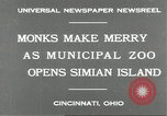 Image of municipal zoo Cincinnati Ohio USA, 1930, second 5 stock footage video 65675066773