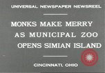 Image of municipal zoo Cincinnati Ohio USA, 1930, second 8 stock footage video 65675066773