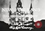 Image of buildings New Orleans Louisiana USA, 1917, second 1 stock footage video 65675066809