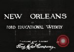 Image of buildings New Orleans Louisiana USA, 1917, second 6 stock footage video 65675066809