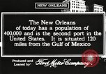 Image of buildings New Orleans Louisiana USA, 1917, second 7 stock footage video 65675066809