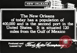 Image of buildings New Orleans Louisiana USA, 1917, second 8 stock footage video 65675066809