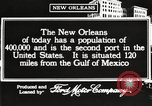 Image of buildings New Orleans Louisiana USA, 1917, second 9 stock footage video 65675066809