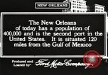 Image of buildings New Orleans Louisiana USA, 1917, second 10 stock footage video 65675066809