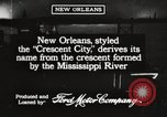 Image of streets New Orleans Louisiana USA, 1917, second 2 stock footage video 65675066810