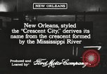 Image of streets New Orleans Louisiana USA, 1917, second 4 stock footage video 65675066810
