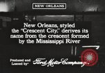 Image of streets New Orleans Louisiana USA, 1917, second 5 stock footage video 65675066810