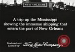 Image of ships New Orleans Louisiana USA, 1917, second 2 stock footage video 65675066812