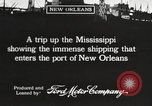 Image of ships New Orleans Louisiana USA, 1917, second 3 stock footage video 65675066812