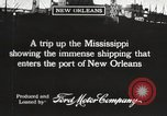 Image of ships New Orleans Louisiana USA, 1917, second 6 stock footage video 65675066812