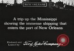 Image of ships New Orleans Louisiana USA, 1917, second 7 stock footage video 65675066812