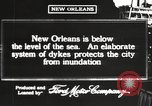 Image of system of dykes New Orleans Louisiana USA, 1917, second 2 stock footage video 65675066813