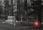 Image of Confederate Soldiers Home and Marietta National Cemetery Atlanta Georgia USA, 1917, second 1 stock footage video 65675066823