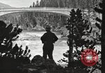 Image of Chittenden bridge crossing the Yellowstone River United States USA, 1917, second 7 stock footage video 65675066826