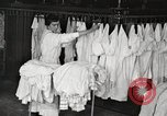 Image of shirts ironed and mended Chicago Illinois USA, 1917, second 8 stock footage video 65675066830