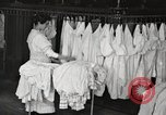 Image of shirts ironed and mended Chicago Illinois USA, 1917, second 11 stock footage video 65675066830