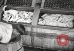 Image of commercial laundry operation and delivery early 1900s Chicago Illinois USA, 1917, second 3 stock footage video 65675066831