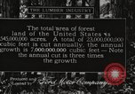 Image of lumbering United States USA, 1917, second 1 stock footage video 65675066833