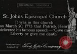 Image of Saint John Episcopal Church Richmond Virginia USA, 1917, second 1 stock footage video 65675066841