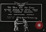 Image of civil war veterans Vicksburg Mississippi USA, 1917, second 1 stock footage video 65675066849