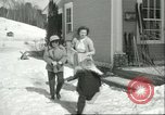 Image of school Pittsford Vermont USA, 1950, second 4 stock footage video 65675066856