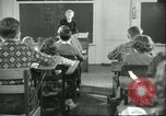 Image of school Pittsford Vermont USA, 1950, second 7 stock footage video 65675066857
