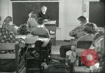 Image of school Pittsford Vermont USA, 1950, second 8 stock footage video 65675066857