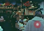 Image of windows of stores New York City USA, 1958, second 7 stock footage video 65675066864