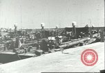 Image of harbor Palermo Sicily Italy, 1943, second 9 stock footage video 65675066867
