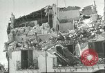 Image of damaged buildings Sicily Italy, 1943, second 1 stock footage video 65675066868
