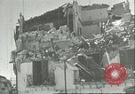 Image of damaged buildings Sicily Italy, 1943, second 2 stock footage video 65675066868