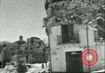 Image of damaged buildings Sicily Italy, 1943, second 4 stock footage video 65675066868