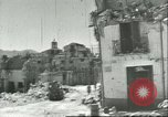 Image of damaged buildings Sicily Italy, 1943, second 5 stock footage video 65675066868
