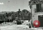 Image of damaged buildings Sicily Italy, 1943, second 8 stock footage video 65675066868