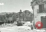 Image of damaged buildings Sicily Italy, 1943, second 11 stock footage video 65675066868
