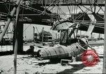 Image of damaged equipment Sicily Italy, 1943, second 3 stock footage video 65675066869